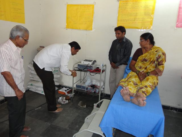 Inauguration of Physiotherapy unit at Kukatpally